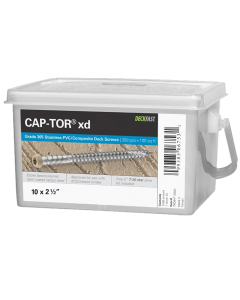 "Starborn Cap-Tor xd - Epoxy Coated 10 x 2-3/4"" - Tan Gray #31 for Toasted Sand  - 350 Count"