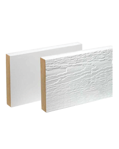 "MiraTEC - Composite - Primed - Exterior Trimboard - 1""X16""  - 16'"