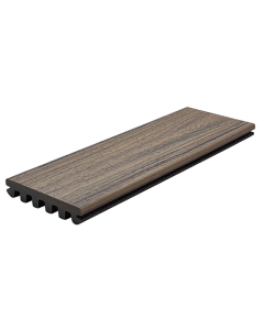 """Trex Enhance - Naturals - 1"""" Grooved Edge Board - Rocky Harbor - 1""""X6""""  - 12'"""