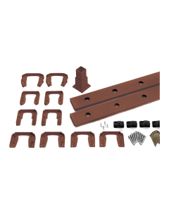 """Trex Transcend - 8' Accessory Infill Kit for Round Aluminum Balusters - Horizontal - Vintage Lantern - 91.5"""""""