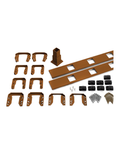 """Trex Transcend - 8' Accessory Infill Kit for Square Balusters - Stair - Tree House  - 91.5"""""""