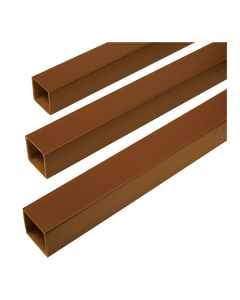 """Trex Transcend - Square Balusters for 42"""" Rail Height - Tree House - 16/Pack"""
